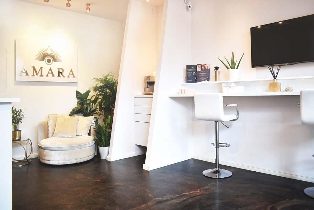 Vorraum Amara Laserstudio